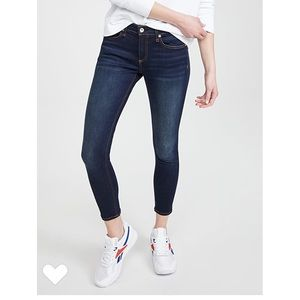 Rag and bone skinny jeans mid rise size 25